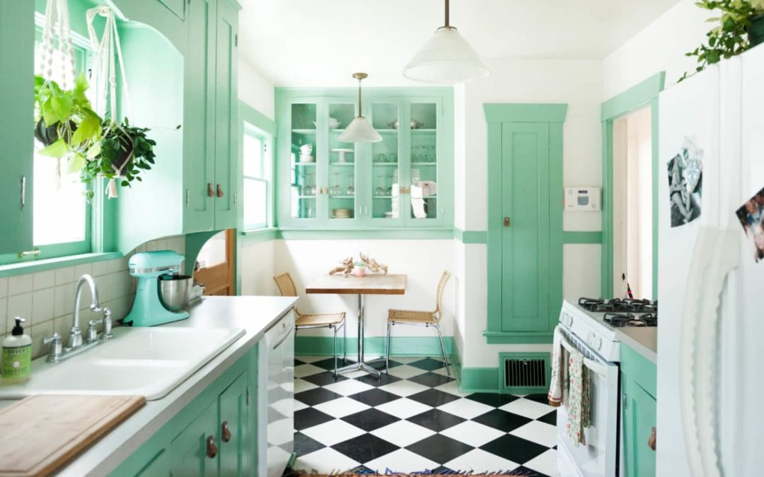 I've Painted Kitchen Cabinets 4 Times, and This Is the Best Paint to Use