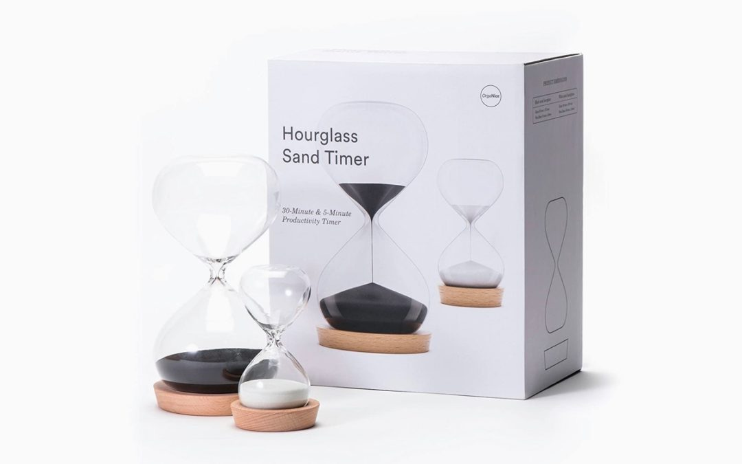 Product Of The Week: Minimalist Hourglass Sand Timers