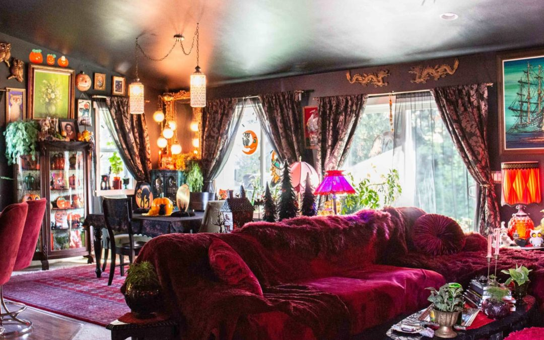 'The Moonlit Manor' Is a Gothic and Gorgeous Home Full of Halloween Inspiration