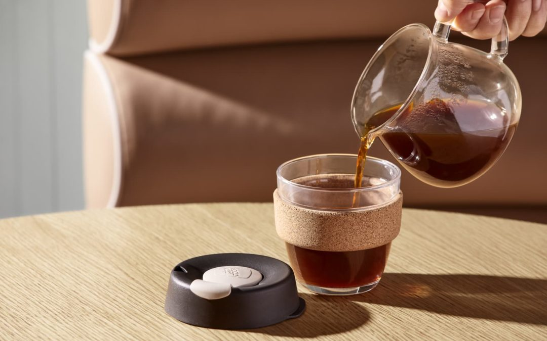 This Barista-Approved Glass Travel Cup Makes My Weekday Coffee Feel so Much Classier