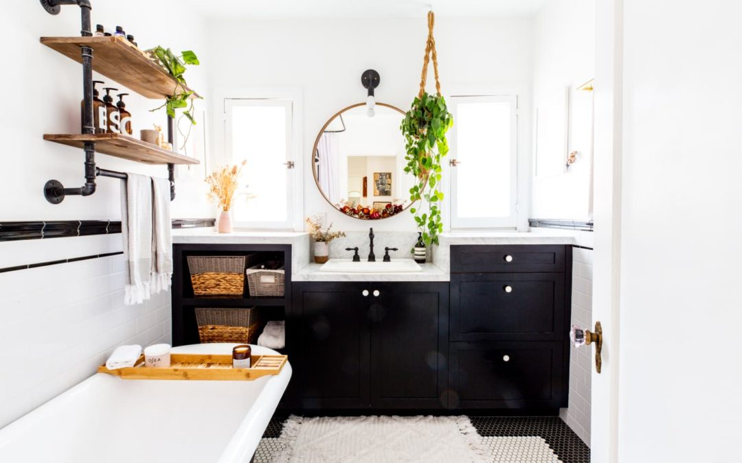 This Is a Fun, Unexpected Feature to Decorate in Your Bathroom