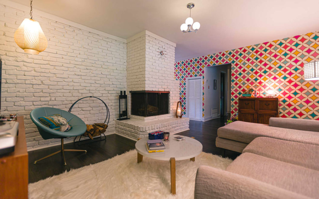 This Mid-Century Modern House Has Colorful Patterns and Themed Rooms