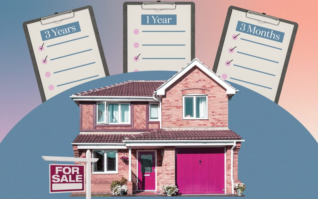 Use These Checklists for Buying a House in 3 Years, 1 Year, Or 3 Months